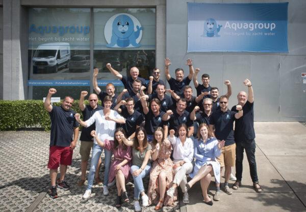 Aquagroup, een bruisende onderneming met meer dan 30 jaar ervaring